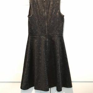 Kensie Dresses - Black on Black textured dress